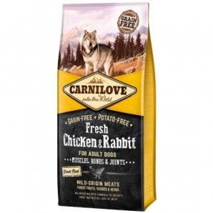 Croquettes chien CARNILOVE Adult Fresh Chicken & Rabbit