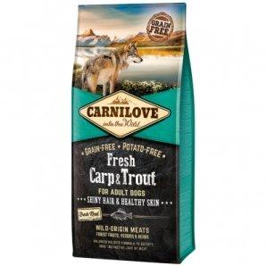 Croquettes chien CARNILOVE Adult Fresh Carp & Trout