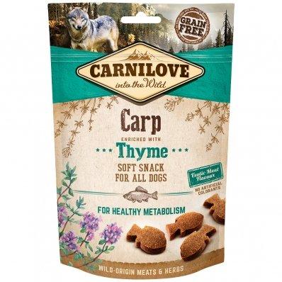 Friandises pour chien Carnilove Soft Snack Carp & Thyme