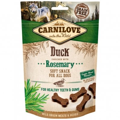 Friandises pour chien Carnilove Soft Snack Duck & Rosemary