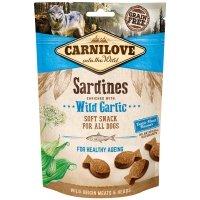 Friandises pour chien Carnilove Soft Snack Sardines & Wild Garlic