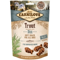 Friandises pour chien Carnilove Soft Snack Trout & Dill