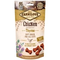 Friandises pour chat Carnilove Soft Snack Chicken & Thyme