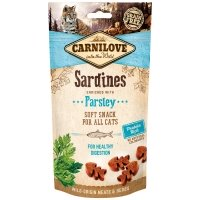 Friandises pour chat Carnilove Soft Snack Sardine & Parsley