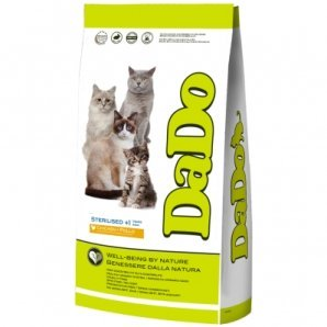 Croquettes chat Dado Adult Sterilised Poulet