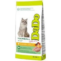 Croquettes chat Dado Adult Hairball Poulet