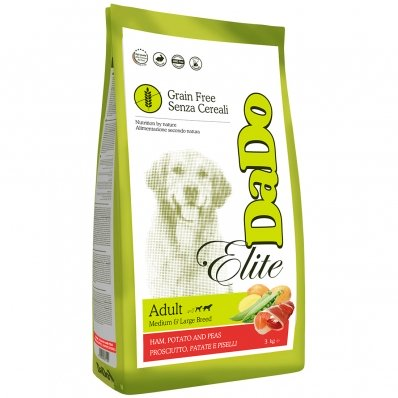 Croquettes chien Dado Grain Free Adult Medium/Large Jambon