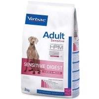 Virbac Veterinary HPM Adult Dog Sensitive Digest Large & Medium