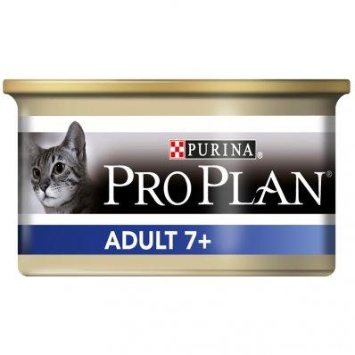 PRO PLAN Adult 7+ 24 boîtes de 85 g