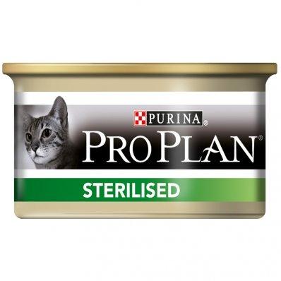 PRO PLAN Sterilised Saumon Et Thon 24 boîtes de 85 g