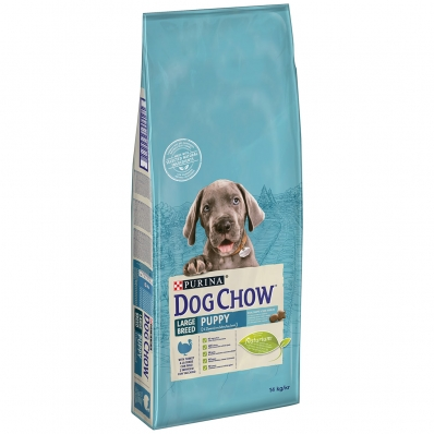 Dog Chow Puppy Large Breed Dinde