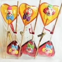 Sucettes clowns