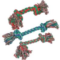 Jouet pour chien Karlie corde avec 2 nœuds