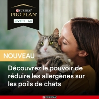 PRO PLAN chat LiveClear Adult Sterilised
