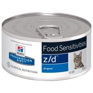 Boîtes Hill's Prescription Diet Feline z/d Ultra Allergen