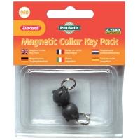 Lot de 2 clés de collier magnétique pour chatière Staywell 932