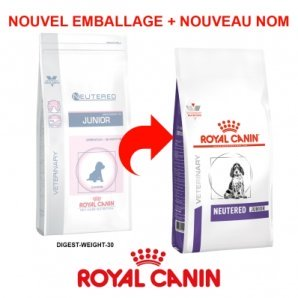 Royal Canin Vet Care Nutrition Digest & Weight Neutered Junior 30