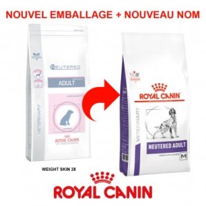 Royal Canin Vet Care Nutrition Weight & Skin Neutered Adult 28