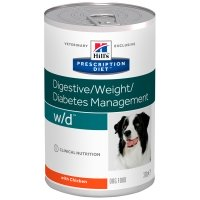 Boîtes Hill's Prescription Diet Canine w/d