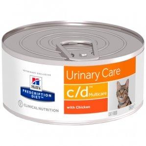 Boîtes Hill's Prescription Diet Feline c/d