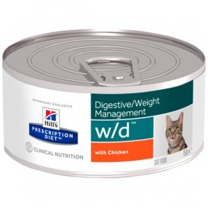 Boîtes Hill's Prescription Diet Feline w/d