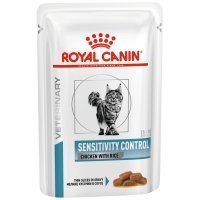 Sachets Repas Royal Canin Veterinary Diet Chat Sensitivity Control Chicken & Rice
