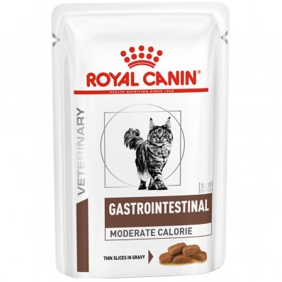 Sachets Repas Royal Canin Veterinary Diet Chat Gastro Intestinal Moderate Calorie