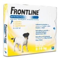 Frontline Spot-On chiens de 2 kg à 10 kg