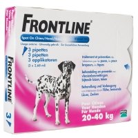 Frontline Spot-On chiens de 20 kg à 40 kg