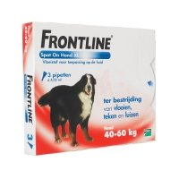 Frontline Spot-On chiens de 40 kg à 60 kg