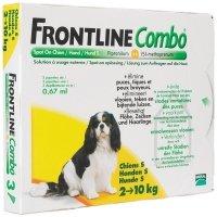 Frontline Combo chiens de 2 kg à 10 kg