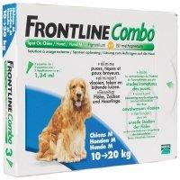 Frontline Combo chiens de 10 kg à 20 kg