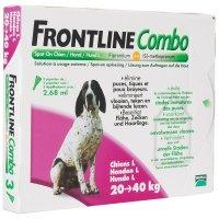 Frontline Combo chiens de 20 kg à 40 kg