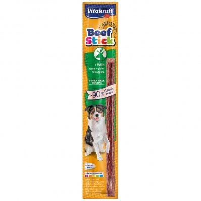 Friandise pour chien Vitakraft Beef-Stick au Gibier