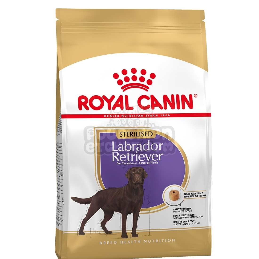 royal canin maxi breed labrador retriever sterilised adult. Black Bedroom Furniture Sets. Home Design Ideas