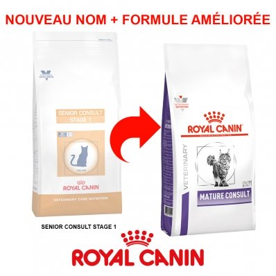 Royal Canin Chat Veterinary Care Nutrition Senior Consult Stage 1