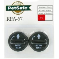 Lot de 2 piles PetSafe RFA-67D