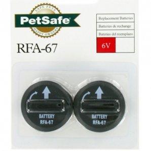 Lot de 2 piles PetSafe RFA-67D