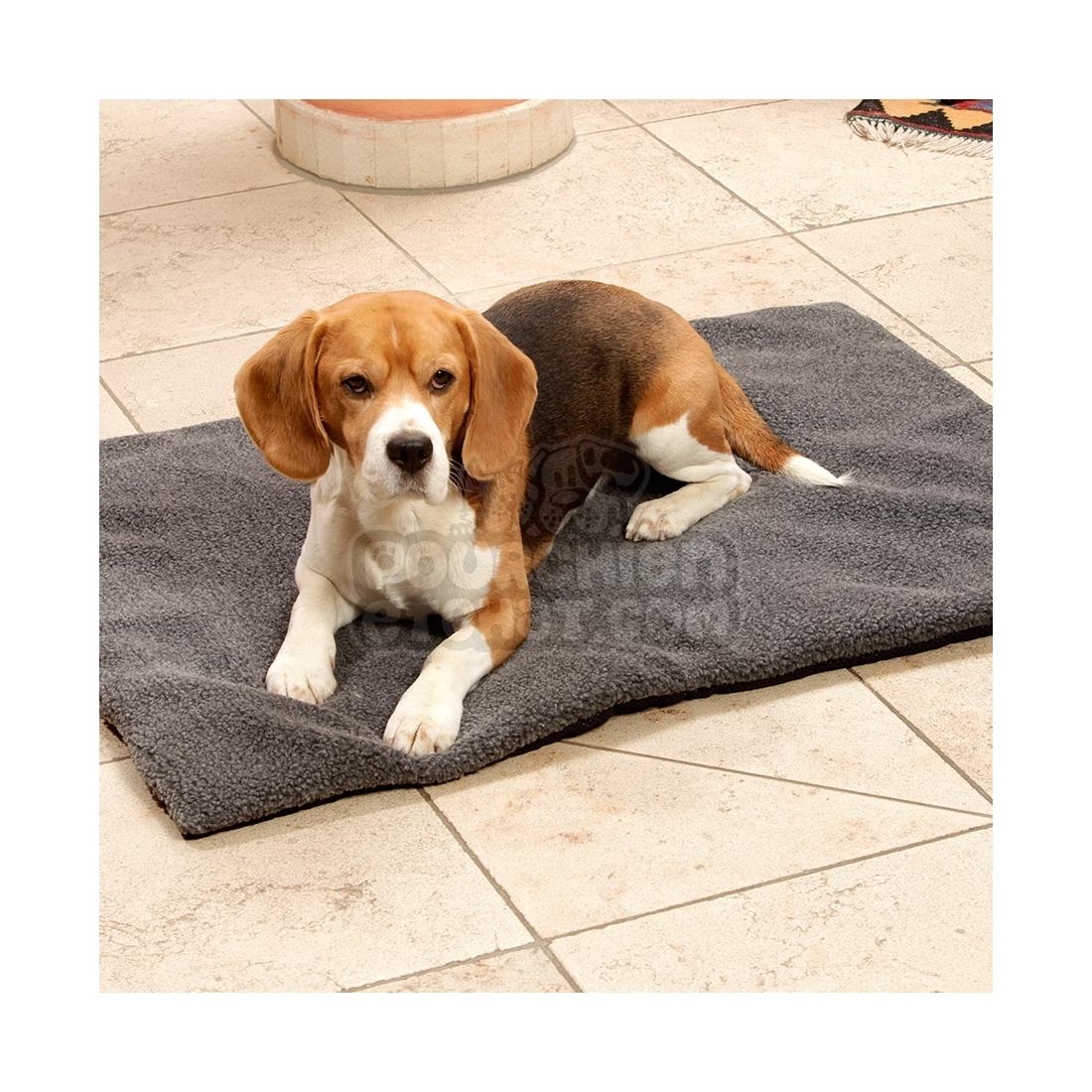 tapis pour chien fleecy