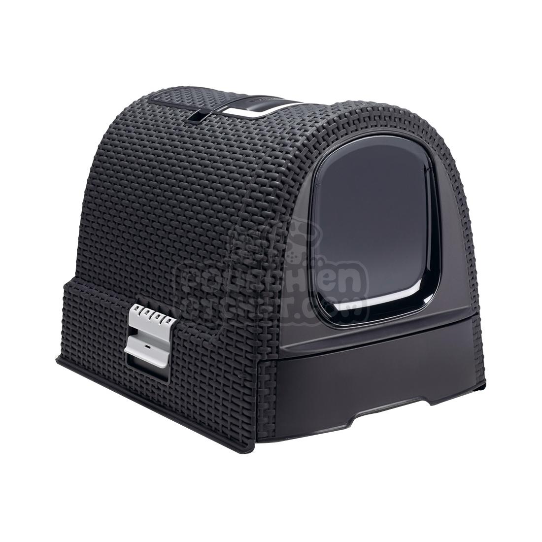 maison de toilette pour chat curver. Black Bedroom Furniture Sets. Home Design Ideas