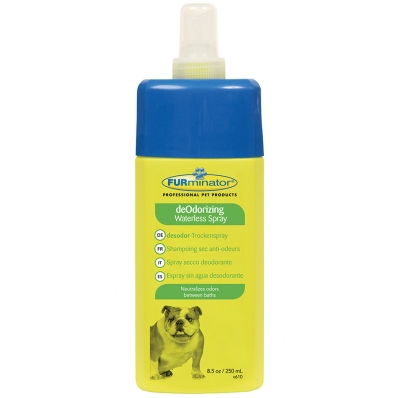 shampoing sans rincage pour chien furminator deodorizing. Black Bedroom Furniture Sets. Home Design Ideas