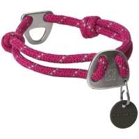 Collier pour chien Ruffwear Knot-a-Collar pourpre