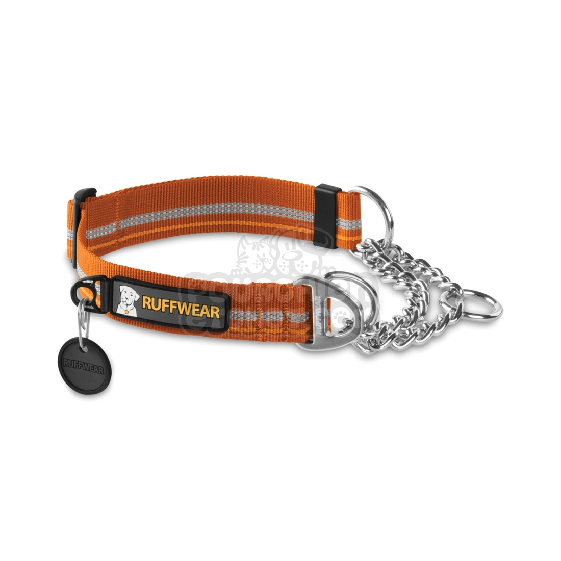 collier pour chien ruffwear chain reaction orange. Black Bedroom Furniture Sets. Home Design Ideas
