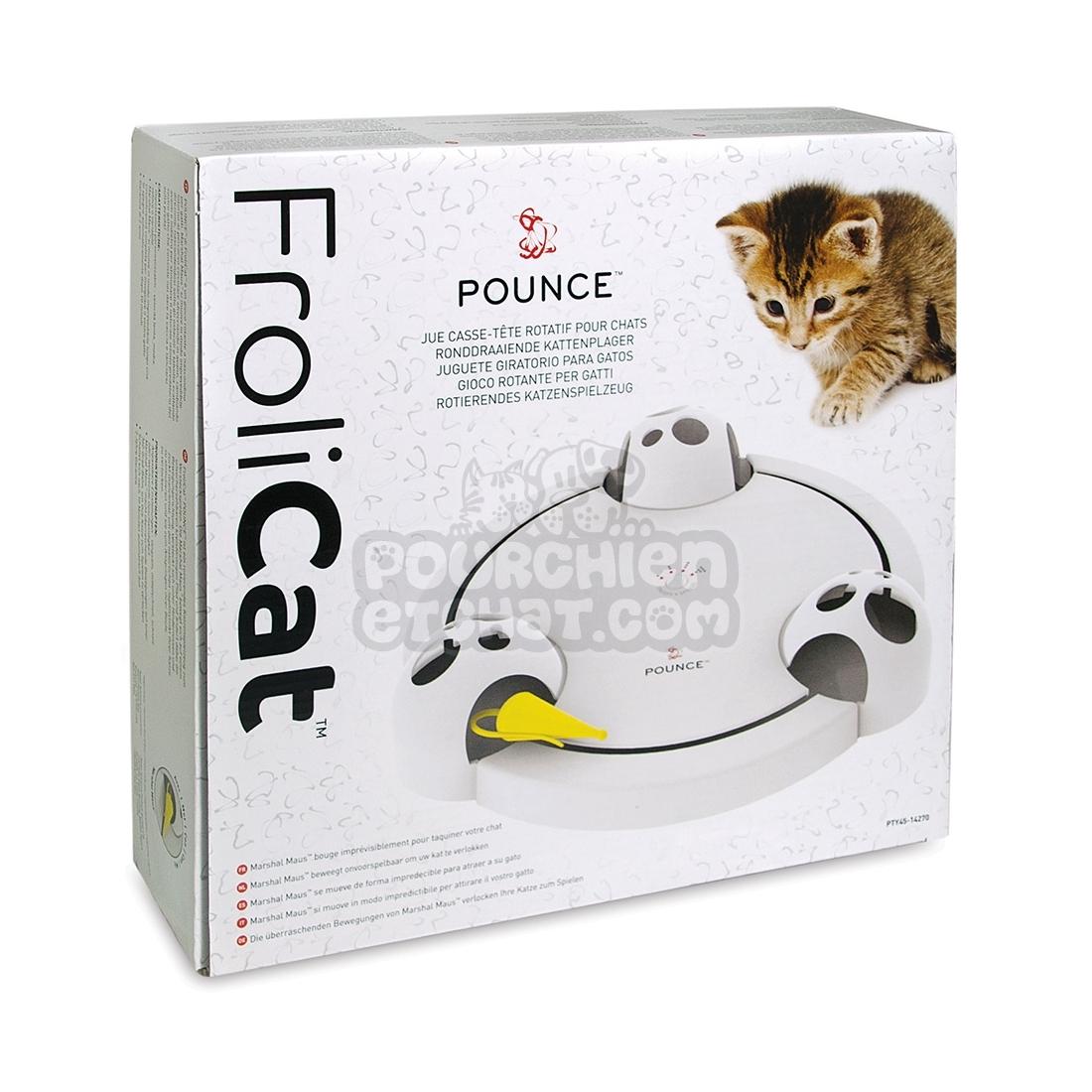 jouet pour chat frolicat pounce. Black Bedroom Furniture Sets. Home Design Ideas