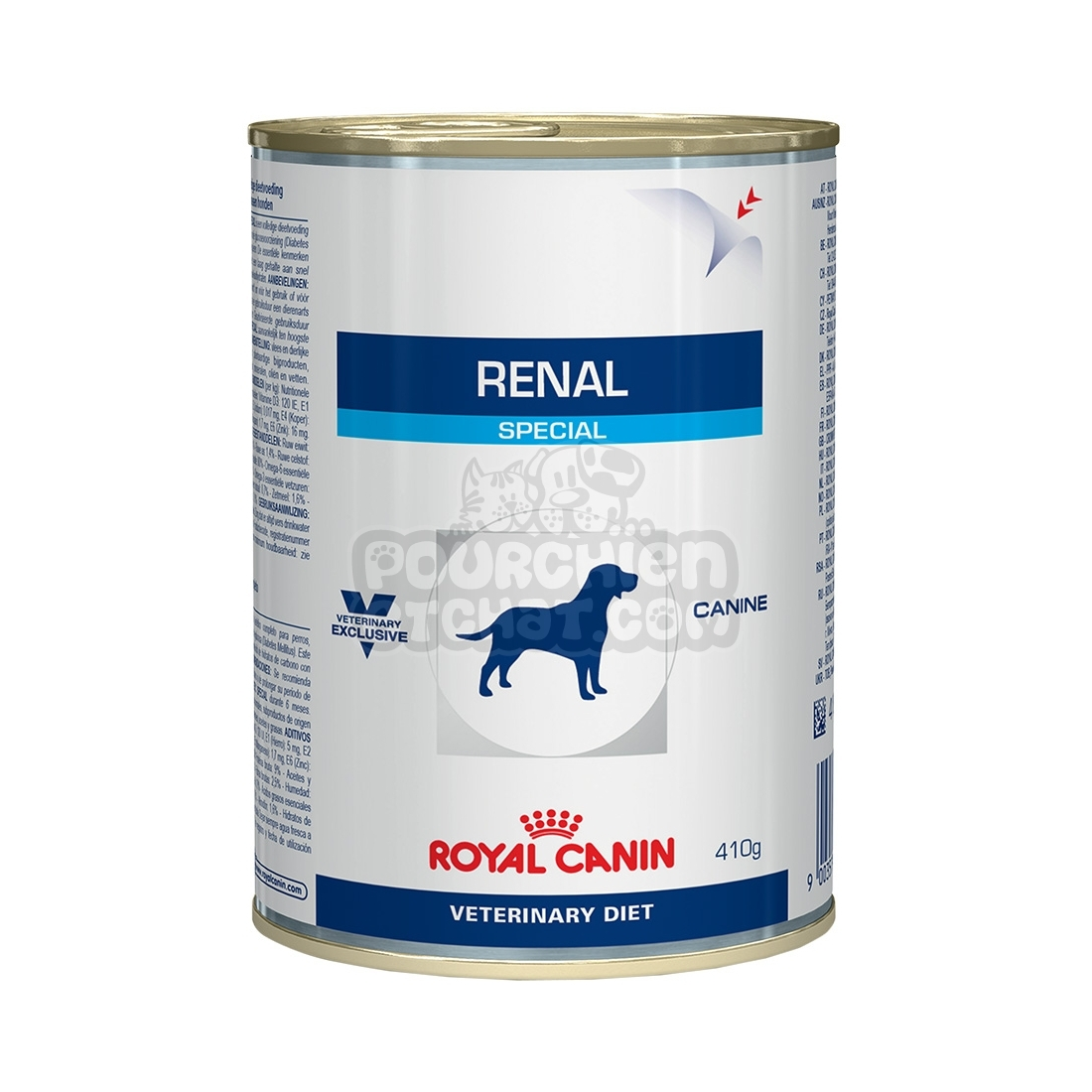 bo tes royal canin veterinary diet chien renal special. Black Bedroom Furniture Sets. Home Design Ideas