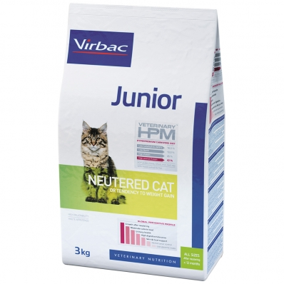Virbac Veterinary HPM Junior Cat Neutered