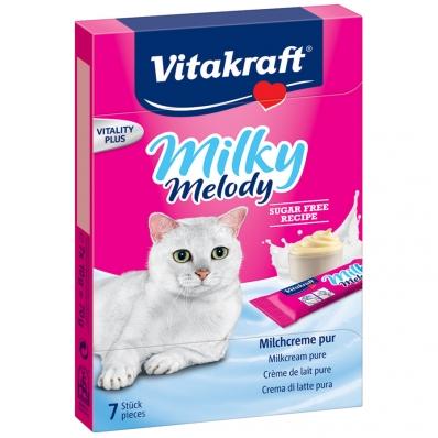 Friandises pour chat Vitakraft Milky Melody à la crème de lait pure