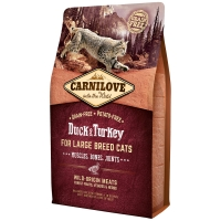 Croquettes chat CARNILOVE Large Breed Adult Duck & Turkey