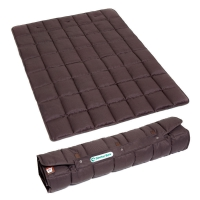 Couverture portable Doctor Bark marron
