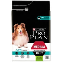 PRO PLAN Medium Adult Sensitive Digestion OptiDigest à l'agneau
